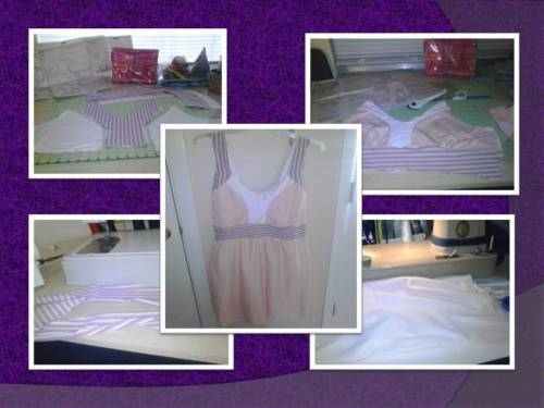 mom pink dress
