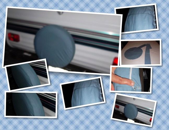 pop up camper tire cover